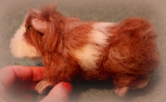 Needle felted guinea pig (1)