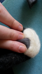 How to needle felt long animal fur (20)