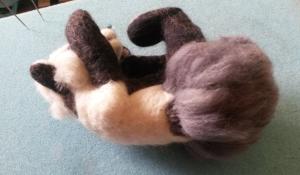 How to needle felt long animal fur (28)