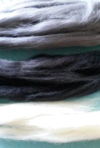 How to needle felt long animal fur (3)