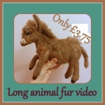 Long animal fur video