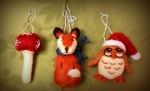 Winter woodland tree decorations!