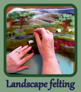 2d felting ideas