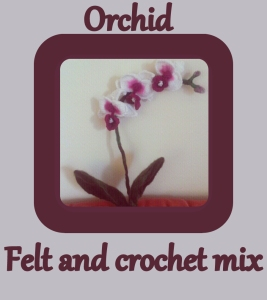 Felt orchid