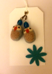 needle felted earrings1