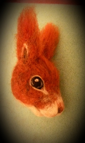How to add head and limbs onto needle felted animals (1/6)