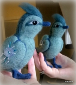 Felted bird (1)