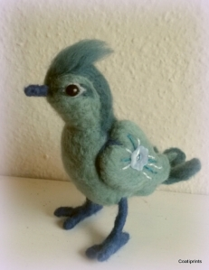 Felted bird (2)
