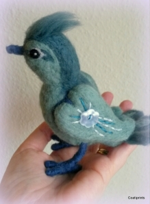 Felted bird (8)