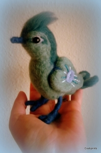 Felted bird (9)