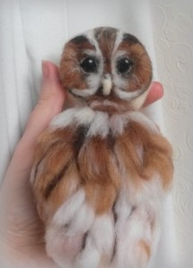 Felted owl (18)