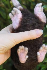 02-Needle felted mole (5)