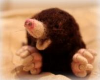 08-Needle felted mole (11)