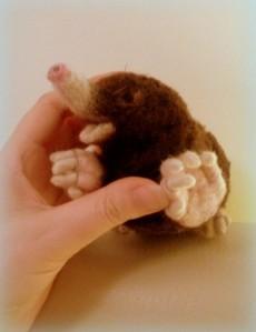 24-Needle felted mole (2)