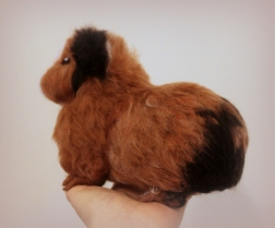 Needlefelted guinea pig (1)