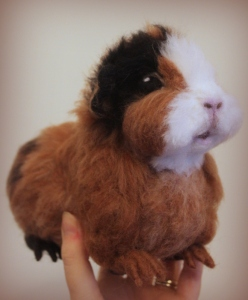 Needlefelted guinea pig (21)