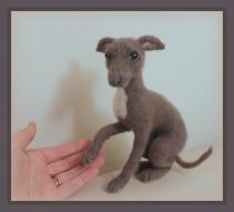 11-Needle felted dog (4)