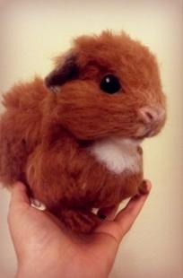 6-Needle felted guinea pig (6)