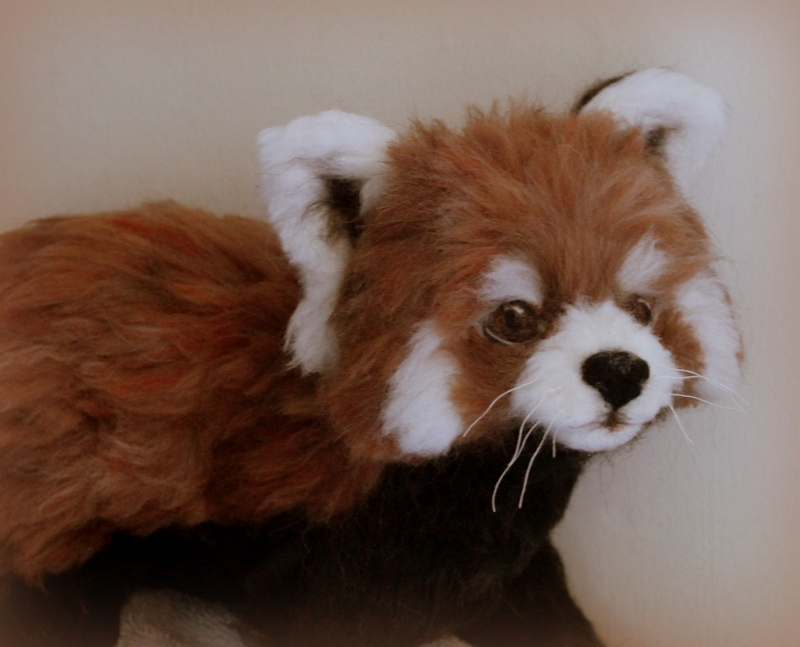 Needle felted red panda  (41)