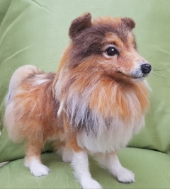 Mini Schubie the Sheltie Feltie