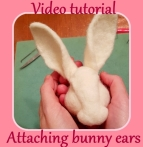attaching bunny ears tutorial