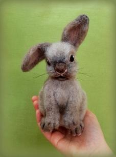 Needle felted rabbit (5)