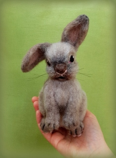 Needle felted rabbit (5)