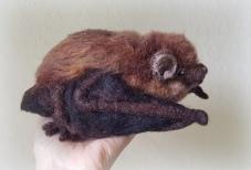 Needle felted bat (30)