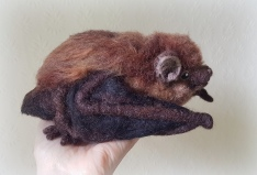 Needle felted bat (30)