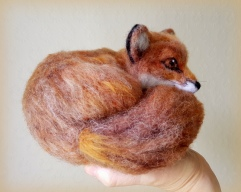 Needle felted fox (15)