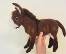Needle felted donkey (3)